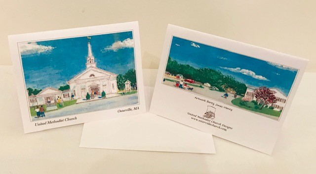 Note Cards | United Methodist Church of Osterville | Set of 12 | 4.25