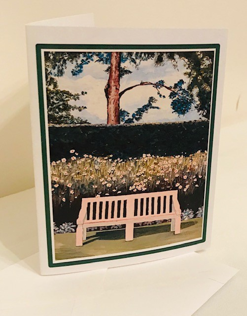 Note Cards | Bench | Set of 12 | 5.50