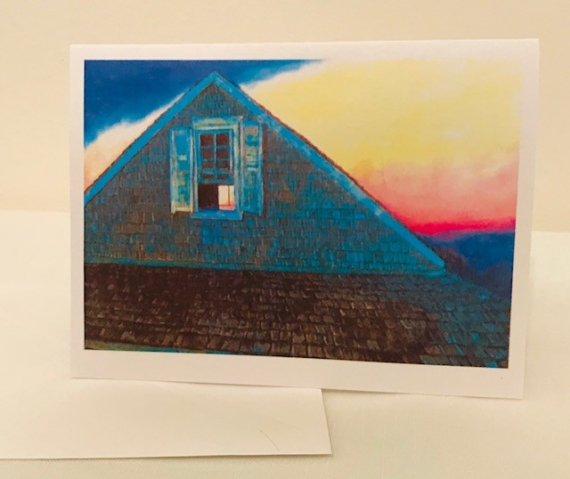 Note Cards | Cape Cod Sun Set | Set of 12 | 4.25