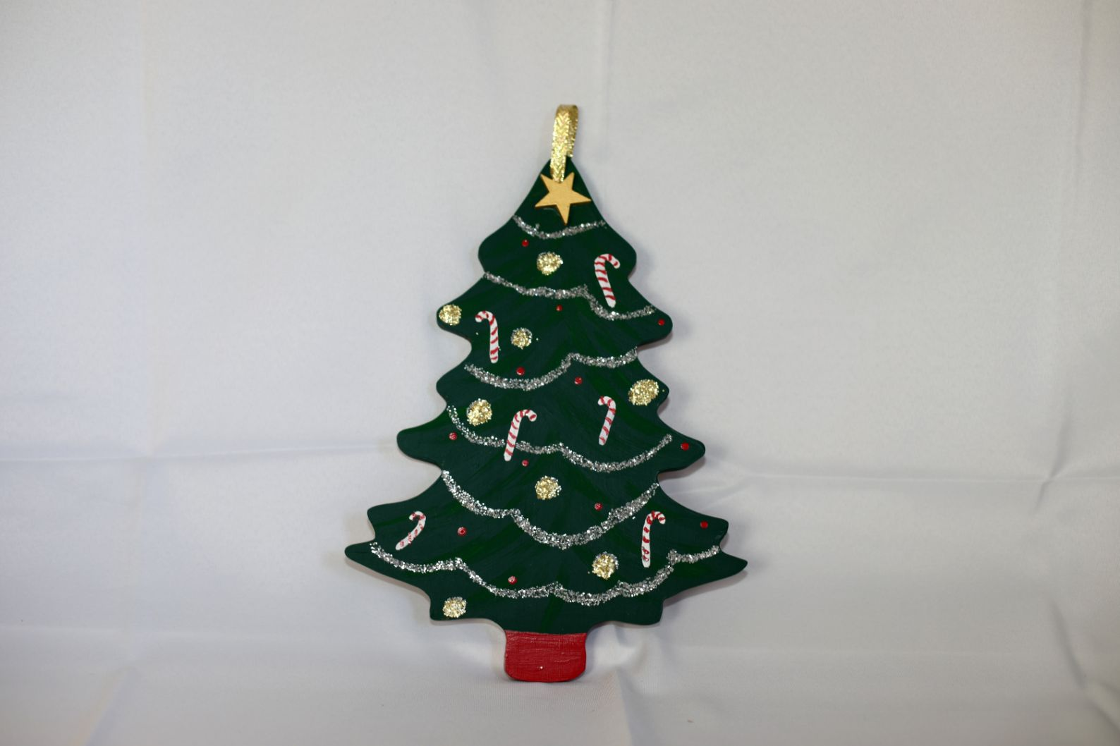 Hand Painted Wooden Tree