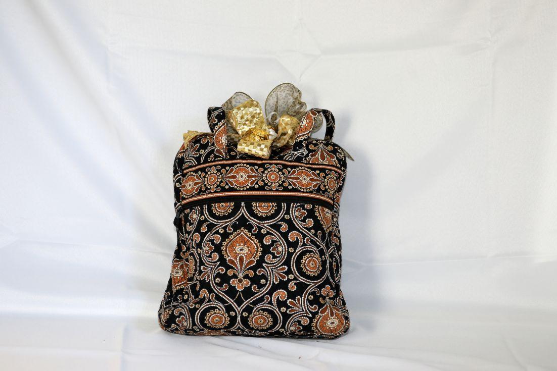 Vera Bradley Book Bag with Books 2