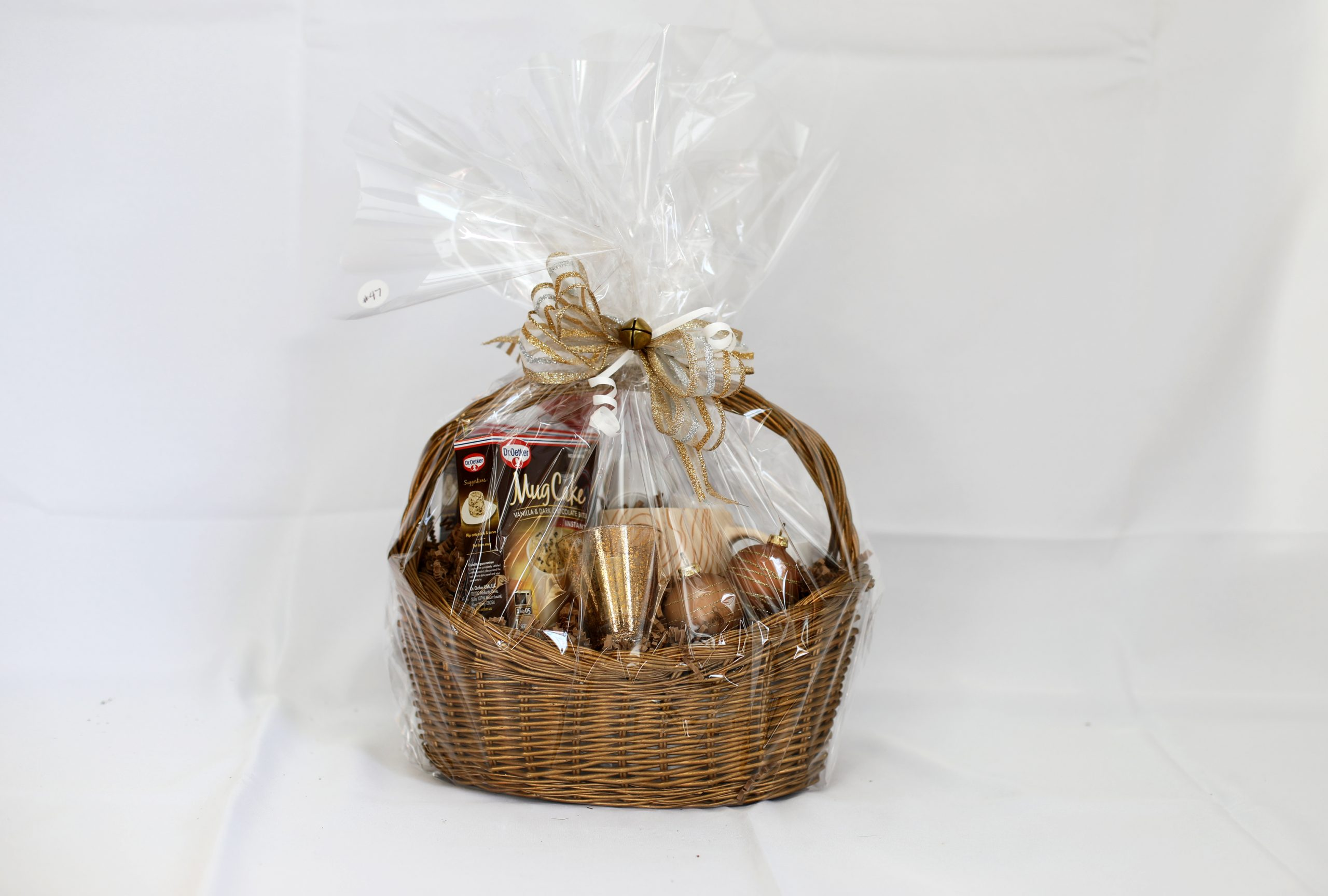 Gift Basket: Coffee and Cake for One